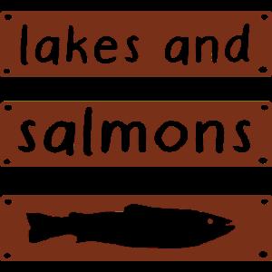 Salmon Algen Störfaktor Fischen Angeln Lachs