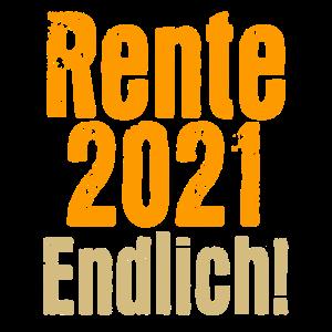 Rente 2021 Endlich