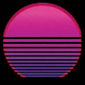 Sonne Retro 80s
