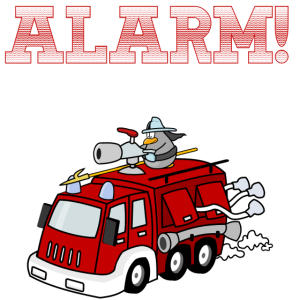 Alarm! Ich bin 3 Feuerwehr Design