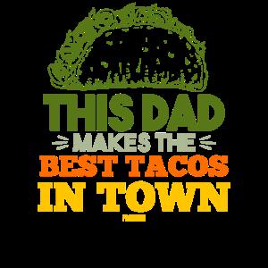 Tacos Papa Vatertag Geschenk