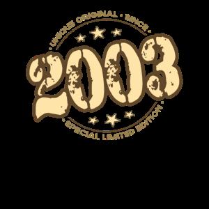 18. Geburtstag - original since 2003 - 18 Jahre