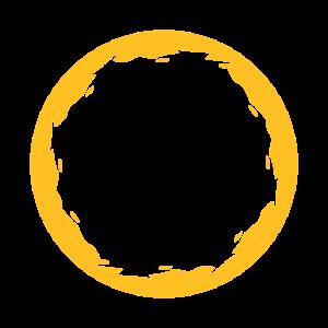 Kreis Rund Gelb