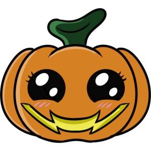 Citrouille d'Halloween Kawaii !