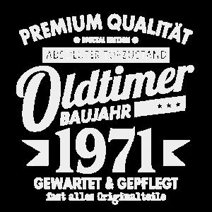 OLDTIMER 1971 LUSTIG 50 JAHRE GEBURTSTAG GESCHENK