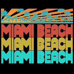 Miami Beach 80s Style