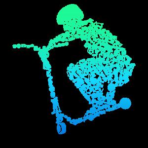 Scooter Roller Stunt Geschenk Jungen Kinder