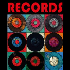 Vintage Schallplatte