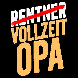 Rente Vollzeit Opa Pension Rentner Ruhestand