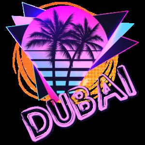 Dubai Sommer Sonne Palmen Summer Sun Palm Trees