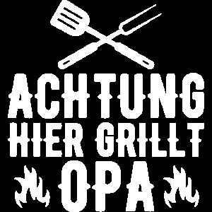 Grillen Grillmeister Opa Grill Geschenkidee