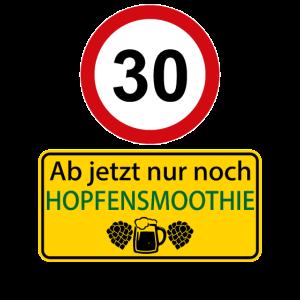 30 Ab jetzt nur noch Hopfensmoothie