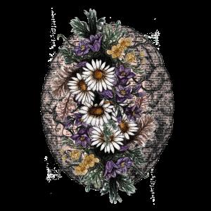 Gehirn und Blume Illustration