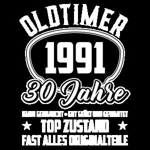 30. Geburtstag Oldtimer 1991 30 Jahre