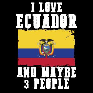 Ecuador Flagge Spruch lustig
