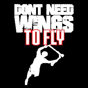 Roller - keine Flügel zum Fliegen