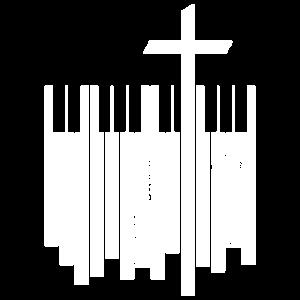 Pianist Kirche Piano Geschenk