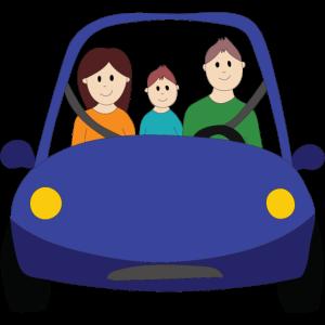 Gemeinsam im Auto