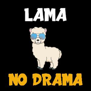 LAMA NO DRAMA cooles Design