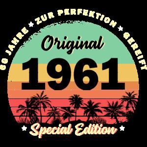 60. Geburtstag Jahrgang 1961 Geschenk