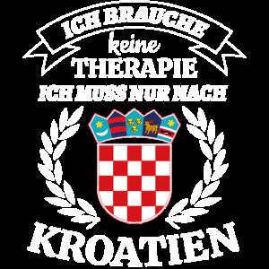 Kroatien T Shirt Kroate T-Shirt Geschenk