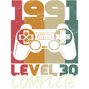 Jahrgang 1991 geboren 30. Geburtstag