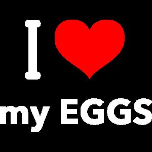 Ich liebe meine Eier