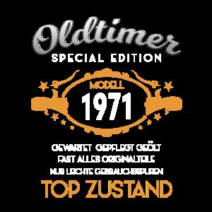 50 Geburtstag oldtimer 1971 2021