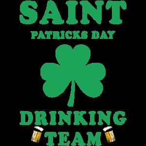 St. Patricks Day Trinkteam