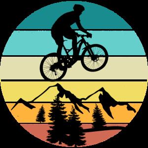 Mountain Bike MTB Shirt Design