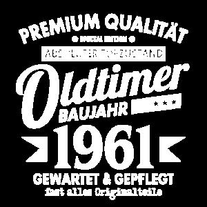 OLDTIMER 1961 LUSTIG 60 JAHRE GEBURTSTAG GESCHENK