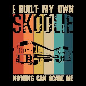 Skoolie Lustiger Spruch für einen Camping Bus