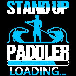 Stand Up Paddler Loading
