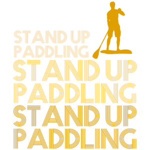 Stand Up Paddling Fan Lover SUP Gift 3v