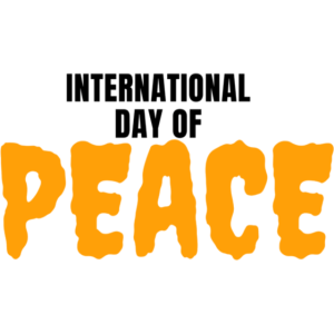 INTERNATIONAL DAYOF PEACE T-SHIRT