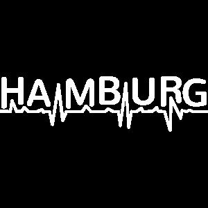 Hamburg Liebe Herzschlag EKG Hamburger Geschenk