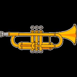 Trompete Blasinstrument Musikinstrument