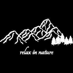 Entspannen Sie sich in der Natur