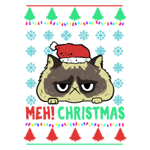 Lustiges Weihnachtsgeschenk für Katzenfreunde