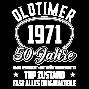50. Geburtstag Oldtimer 1971 50 Jahre
