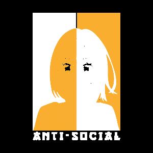 Anime Anti Social Anime Geschenk