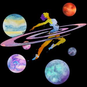 Tanz durch das Weltall