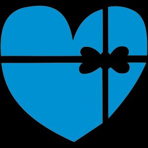 Herz mit Schleife 1