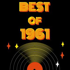 Geburtstag 60 Jahre Best of 1961 60iger Jubiläum