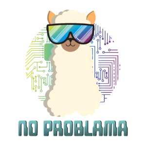 lustiges cooles Lama Alpaka No Problama