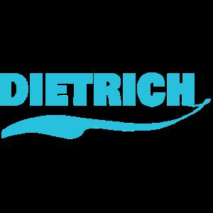 Namensschild Dietrich