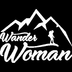 Wander Woman Wandern Geschenkidee