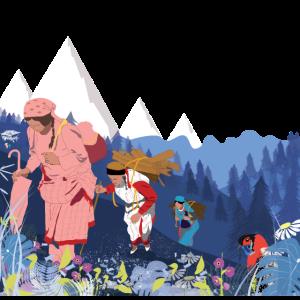 Himalaya-Frauen