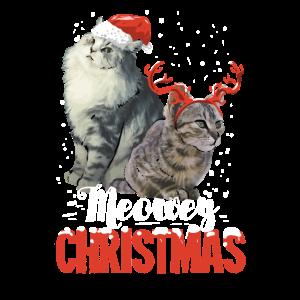 Lustiges Katzen Weihnachtsgeschenk für