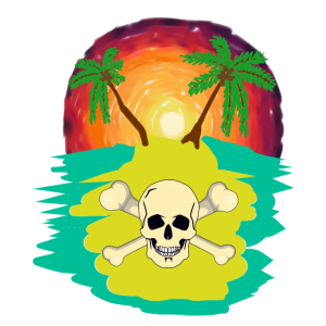 Südsee Piraten Insel Freibeuter Karibik